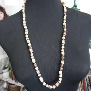 Safari Look Beaded Necklace
